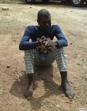 Graphic Photo: Teacher Beheaded 10-Year-Old Pupil In Ogun